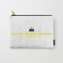 Yellow Jacket Fencing Club Video Game Design Carry-All Pouch