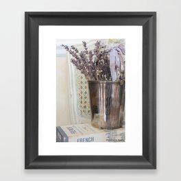French Lavender Framed Art Print