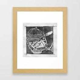 Bultaco 400 Framed Art Print