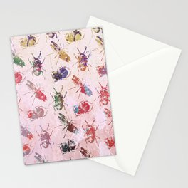 hot buggy mess Stationery Cards
