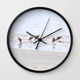 Picnickers  Wall Clock