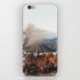 Volcano landscape iPhone Skin