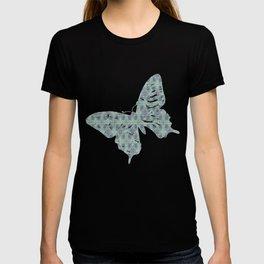 Butterfly Semi-Plaid T-shirt