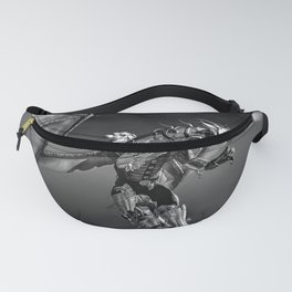 Dragon Rider BW Fanny Pack