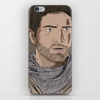 uncharted iPhone & iPod Skins featuring Nathan Drake (Uncharted) by  Steve Wade ( Swade)