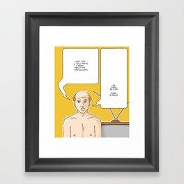 Write a book / Make a movie Framed Art Print