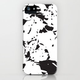 addicted to black & white no.2 iPhone Case
