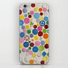 Button Box iPhone & iPod Skin