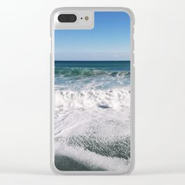 Sea of Sicily Clear iPhone Case
