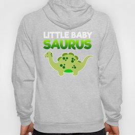 Green Little Baby Saurus Hoody