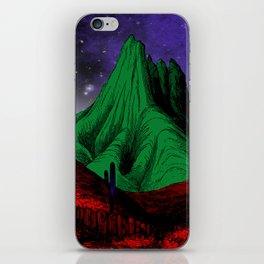 Painting in the Dark iPhone Skin