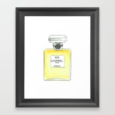 Number Five Framed Art Print
