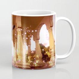 Indian Elephant in a Temple Coffee Mug