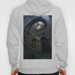 Spiral Staircase in blue and gray tones Hoody