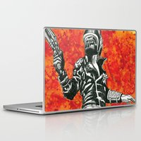 mad max Laptop & iPad Skins featuring Mad Max  by Abominable Ink by Fazooli