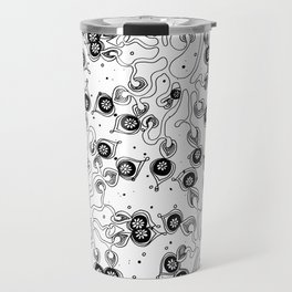 Tree in Bloom All over Pattern Travel Mug