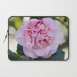 Strawberry Blonde Camellia Bloom Laptop Sleeve