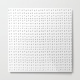 Minimal Pattern :: Plus Metal Print