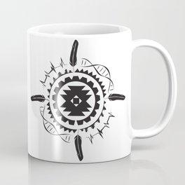 Native Amrican STEM Mandala Southwestern Coffee Mug