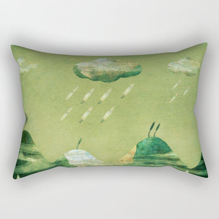 Stormy Weather... Rectangular Pillow