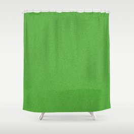 Green Glimmer Shower Curtain