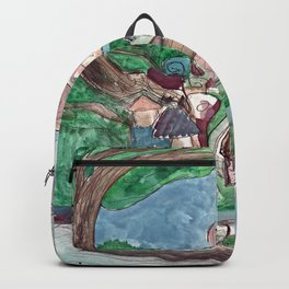 Stormy Village Backpack