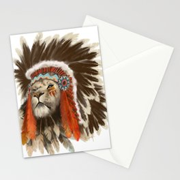 Lion Chief Stationery Cards