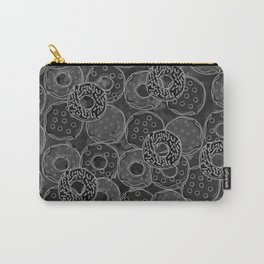 Dark donut | Love donuts | Goth donut | Donut Decor | Donut Designs Carry-All Pouch