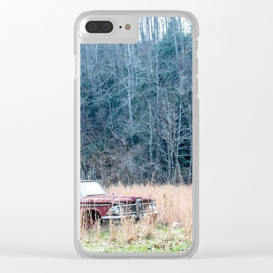 Left to Rust Clear iPhone Case