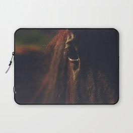Horse photography, high quality, nature landscape fine art print Laptop Sleeve