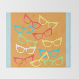 Becoming Spectacles Throw Blanket
