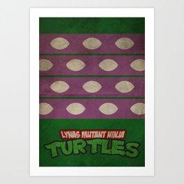 LYNAS Mutant Ninja Turtles: Donatello Art Print