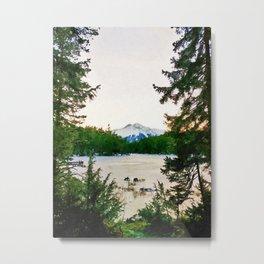 Mountain watercolor painting #1 Metal Print