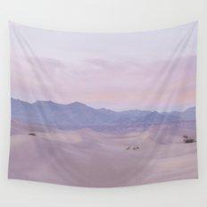 Pink Desert Sunset Wall Tapestry