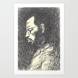 Ornette Coleman Art Print