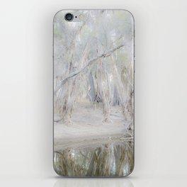Paperbark Trees along Beaufort River iPhone Skin
