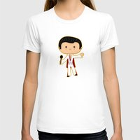 elvis presley T-shirts featuring Elvis Presley by Sombras Blancas Art & Design