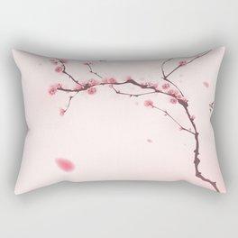 Oriental cherry blossom in spring 001 Rectangular Pillow