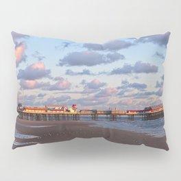 Blackpool Central Pier Sunset Pillow Sham