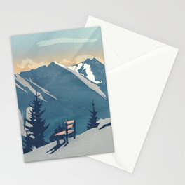 Mountain Sunrise (Pause II) Stationery Cards