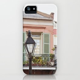 New Orleans Golden Hour in the Quarter iPhone Case