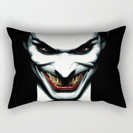 Black joker Rectangular Pillow