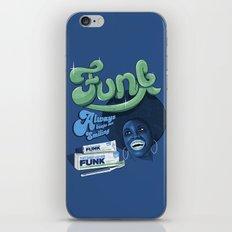 FUNK - ALWAYS KEEPS ME SMILING iPhone & iPod Skin