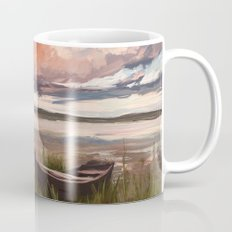 Sunrise over the lake Mug