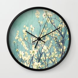Purely Spring Wall Clock