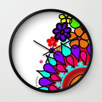 creativity Wall Clocks featuring creativity by AliRodriguez