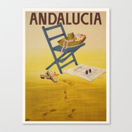 Vintage poster - Andalucia, Spain Canvas Print