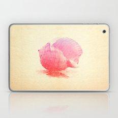 Pink Seashell Laptop & iPad Skin