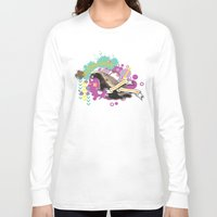 badger Long Sleeve T-shirts featuring Badger by Natasha Jones