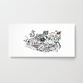 BB Metal Print
